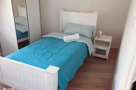 self- contained single room close to airport