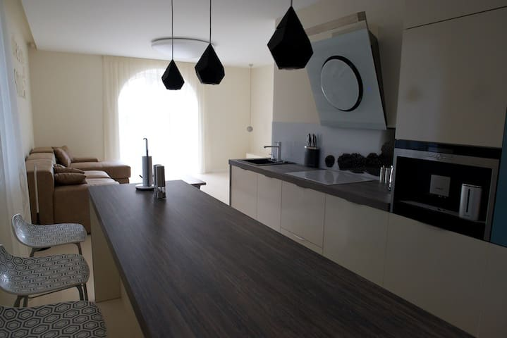 Luxury apartament in Klaipeda  blue - Kłajpeda - Apartament