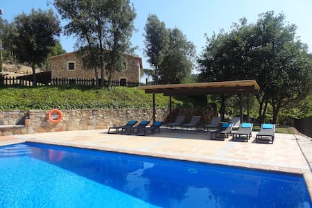 Villa privada in Costa Brava with pool - Riudarenes - Casa de camp