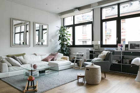 Central Bright and Stylish Loft - Ginebra