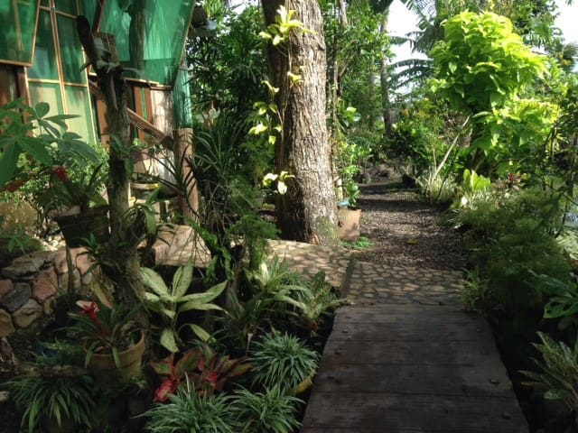 pathway to your room