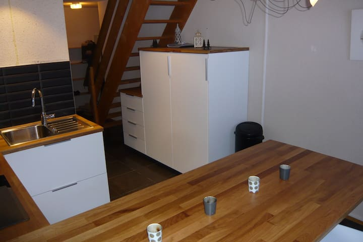 Appartement 6 pers skis aux pieds
