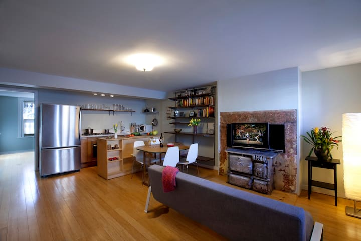 Brooklyn Garden Apartment in 2 Family House - Brooklyn - Appartamento