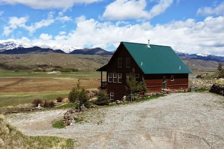 Elk Cabin - Yellowstone - Paradise Valley - Chatka