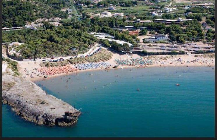 CASE VACANZA VIESTE (Porticello) ESTATE 2017 - Palude Mezzane - Квартира