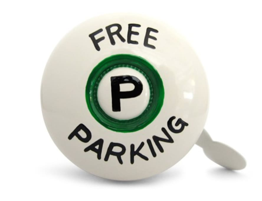 Yes that's right, underground parking is FREE and you will have a reserved spot so it's always available during your stay!