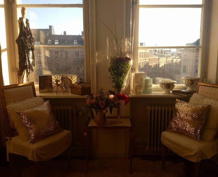 Charming aprtm for 2 in central Stockholm.