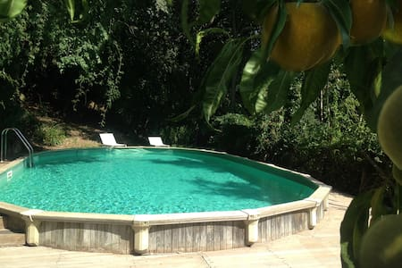Kid friendly farmhouse w pool - Lubriano - Casa
