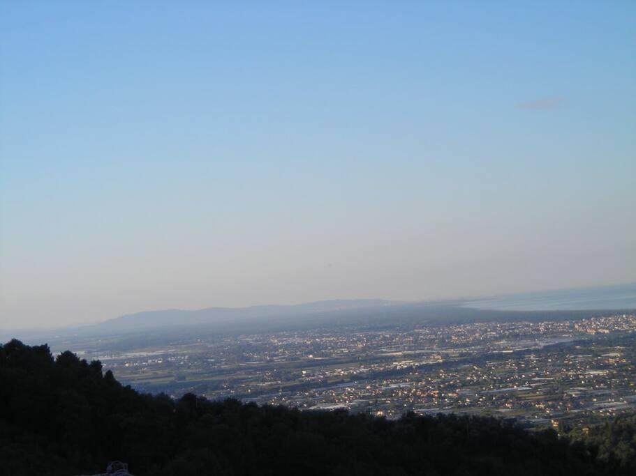 panorama sulla Versilia