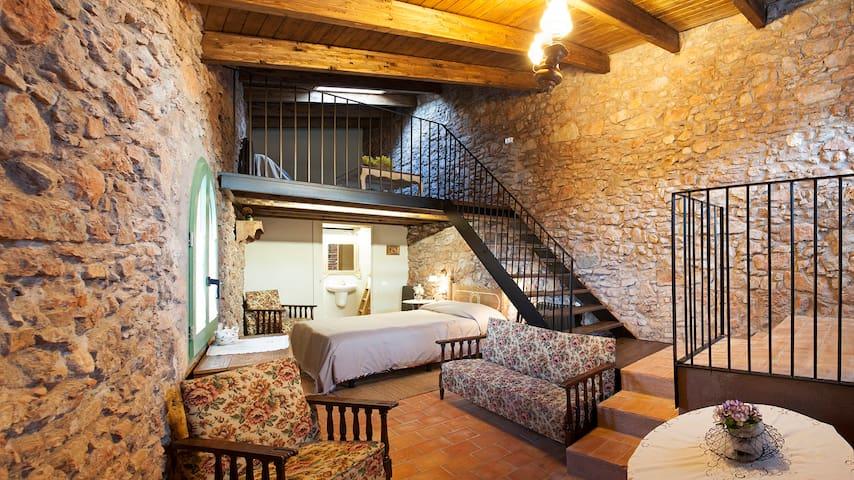 Habitación rural cerca de Montserrat - Rellinars