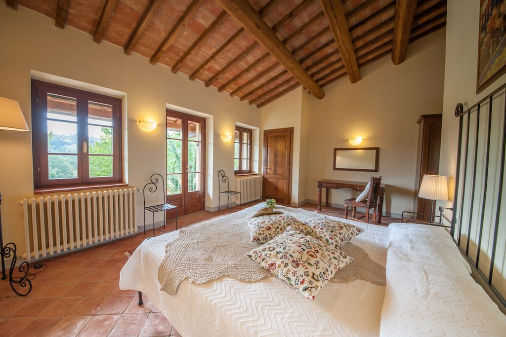 Bedroom 'Volterra' with own balcony