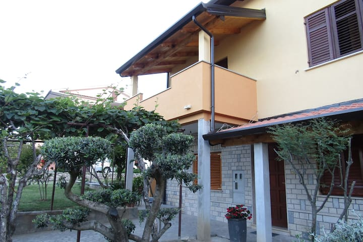 Apartment Pino Roč is a comfortable and relaxing.