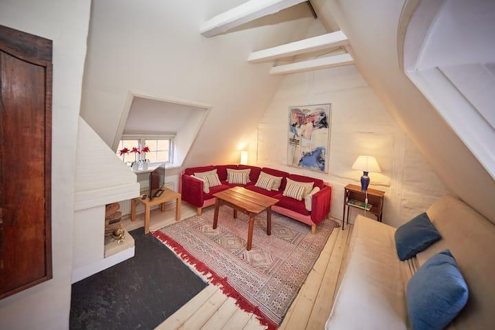 Charmerende loft i Københavns Middelalderkvarter