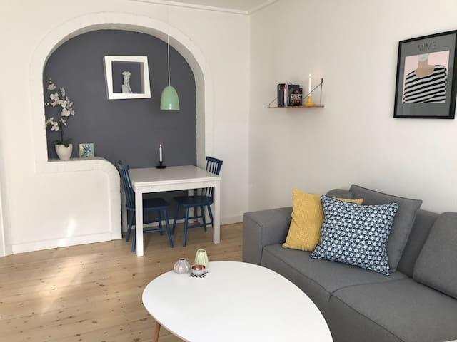 Centralplaceret, hyggelig lejlighed - Kopenhagen - Appartement