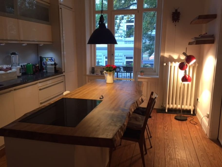 large kitchen for you