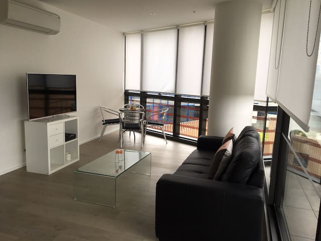 Riverside+City+WiFi 1BR Apartment