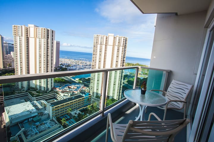 GORGEOUS VIEW 25TH FL. SUITE AT ALA MOANA CENTER