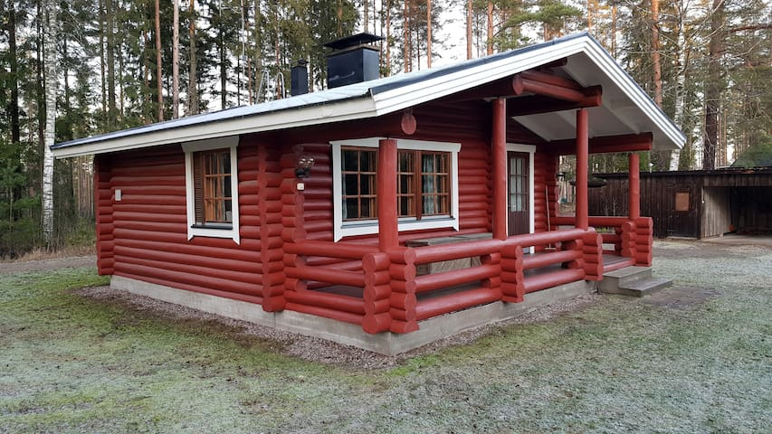 Traditional Finnish living 5 minutes from KymiRing