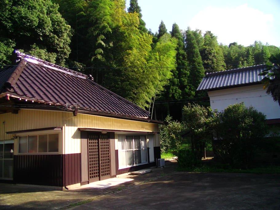Exterior of Guesthouse Kibara
