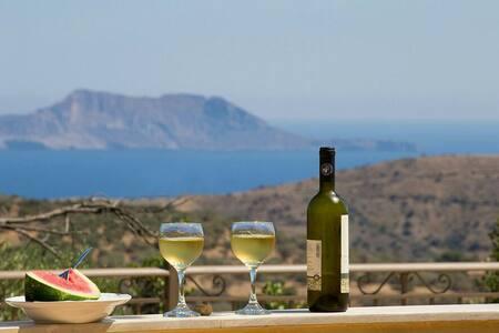 Villa Gerasimos Triopetra Kreta - Τριόπετρα - House