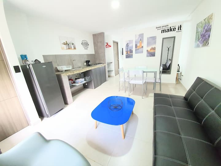 FULL APARTMENT - SANTA MONICA (Chipichape) Cali