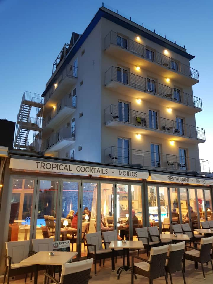 HOTEL VENT I MAR**: Cozy rooms at the beach