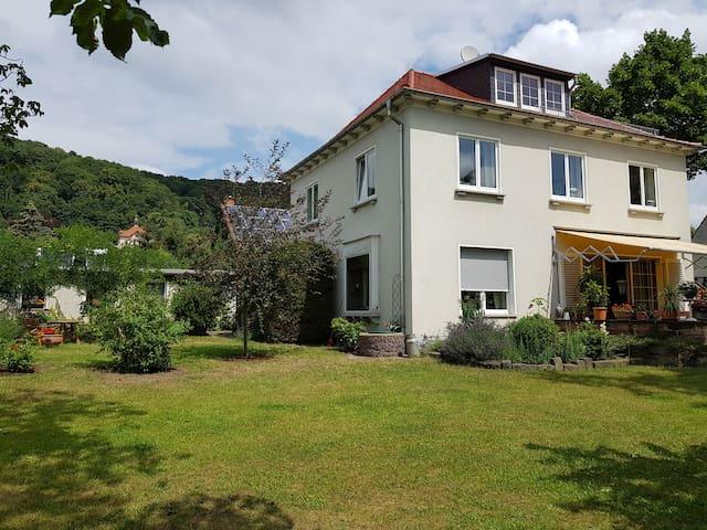 Ferienhaus in Dresden und Radebeul