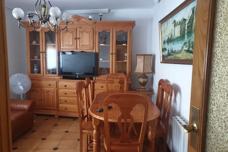 Piso García 3 habitaciones comedor y cocina