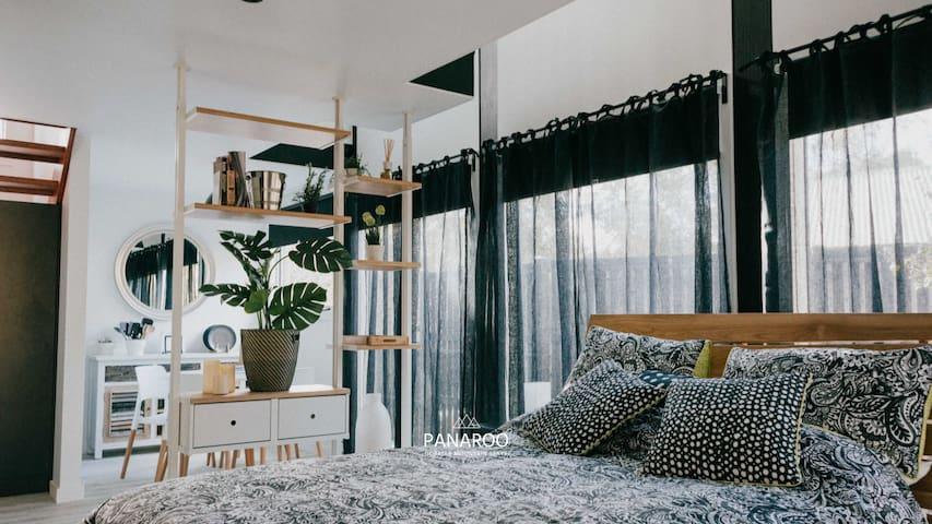 Main studio sleeping area