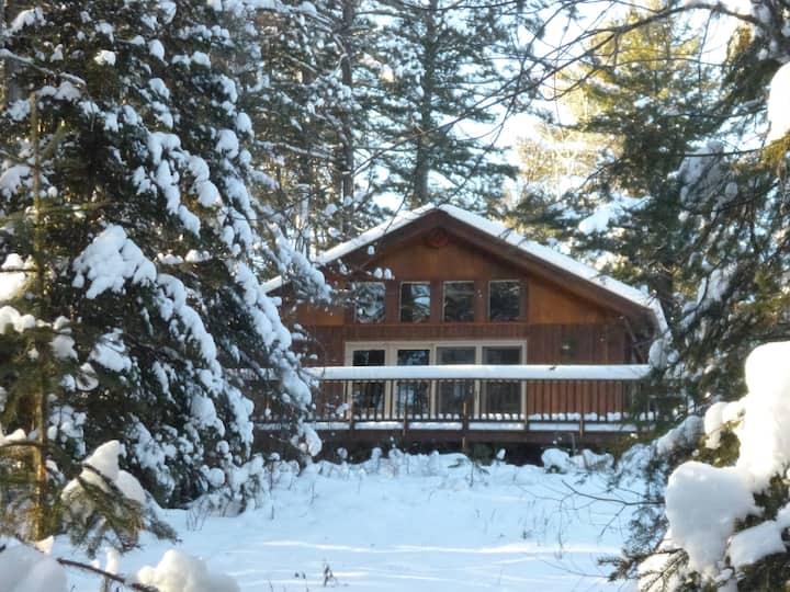 Hiking and Skiing Base Camp!