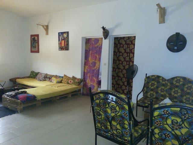 Chambre+sdb pour découverte sénégal - Somone - Appartement