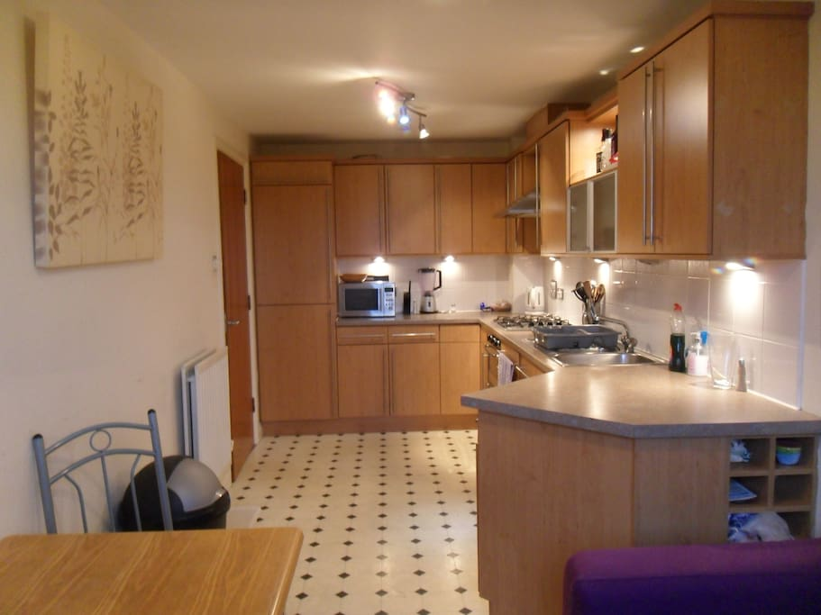 Our fully equipped kitchen you can use at any time