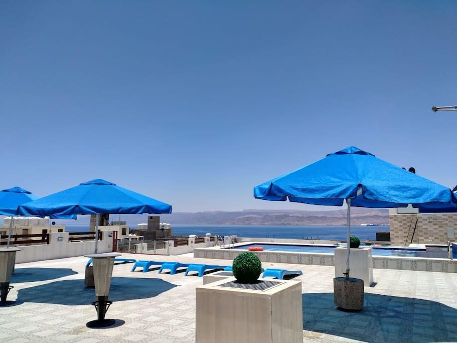 swimming pool at the rooftop - access to the pool have additional charge of JOD 5 per person