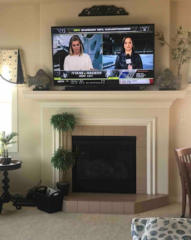 65 inch 4K LED television with Quantum processor and 3.1 sound-bar and wireless subwoofer.