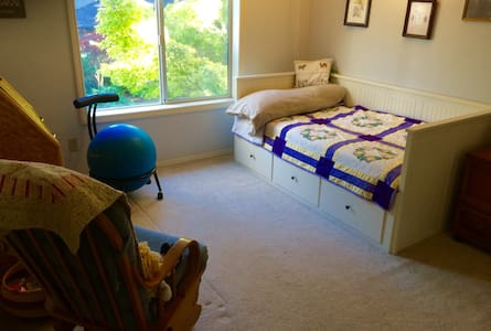 Twin Room in Lovely Home, near Hillsboro Airport - Haus