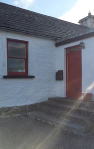 Twin room in heart of village - Walkers Paradise - Rent an Irish Cottage - Cabaña