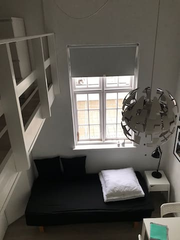 Lille nyistandsat lejlighed