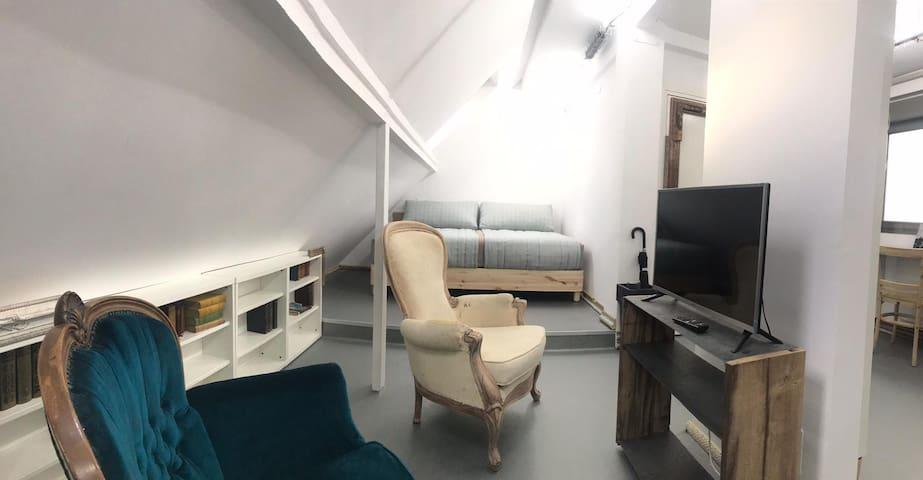 Atico tipo loft centrico