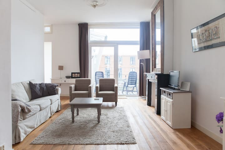 Bright, cosy, comfortable apartment - Utrecht - Apartment