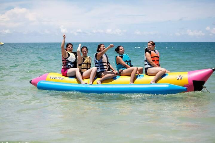 Visit around: Water sport in Nusa Dua