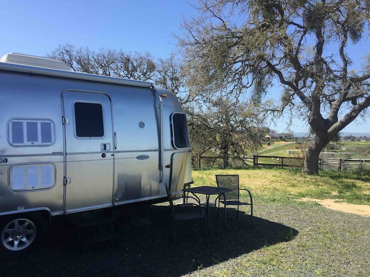 Clean, Safe, Available Blue Moon Airstream Getaway