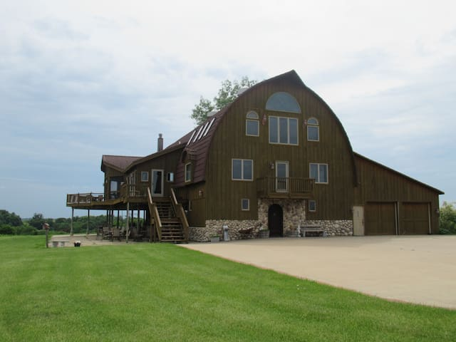 The Beautiful Barn House - amazing inside and out.