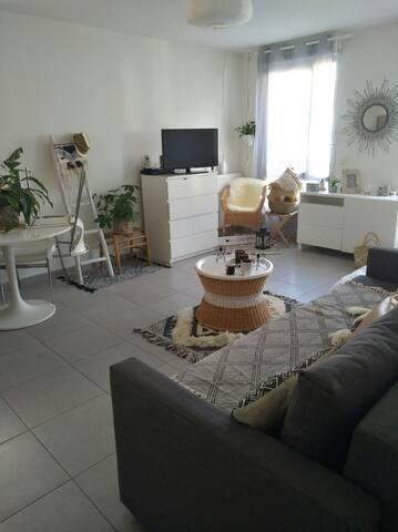 T2 lyon monplaisir Lumière dispo du 7/5 au19/5 - Lyon - Apartment