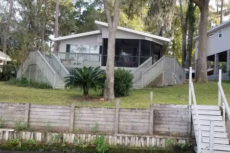 Mizumi House on Lake Talquin, Leon County.