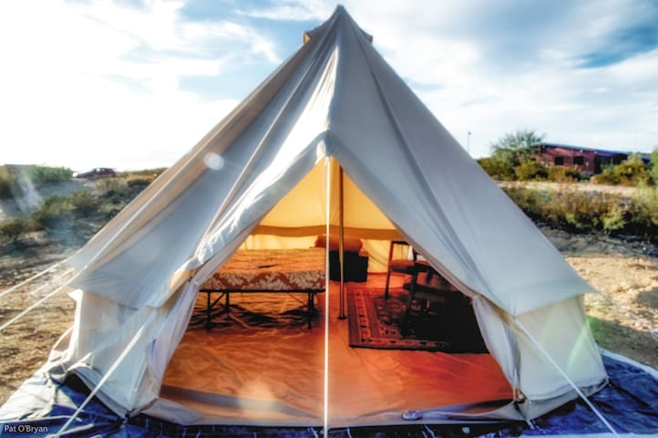 """Terlingua Fancy"" Big Tent. #1 - Terlingua"