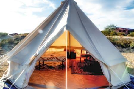 """Terlingua Fancy"" Big Tent. #1 - Terlingua"