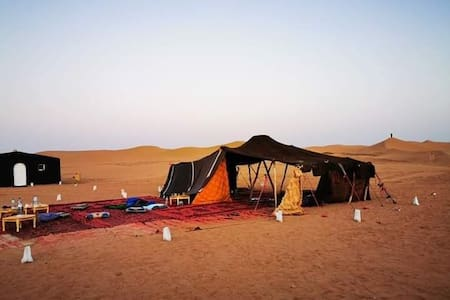 Your expedition in the desert at the Mbark bivouac