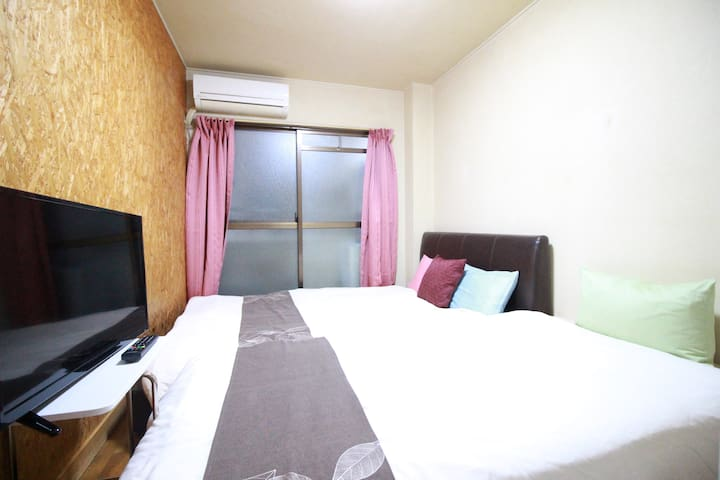 Osaka!Namba! quiet and comfy room★Wifi★105