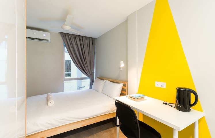 Double Room 1 @ Upstairs Downstairs Co-living Space, Kuala Lumpur