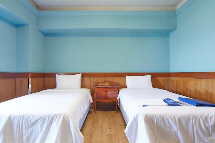 翠安儂小巴黎雙床房